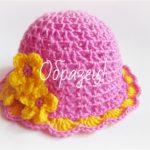 Как вязать крючком летние шапочки для девочки – 4 модели с описанием и МК