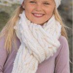 Шарфики спицами для девочек и мальчиков — 6 моделей с описанием, схемами и видео МК