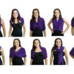 5 вариантов шарфа трансформера спицами — описание, схемы и видео МК