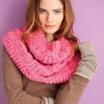 9 вариантов шарфа хомут спицами схемы и описание с видео