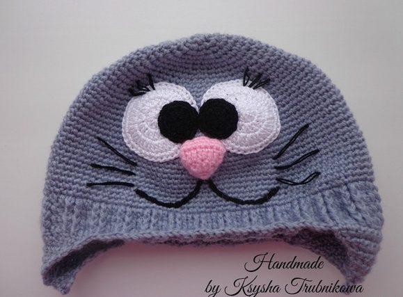 шапка с ушками 4