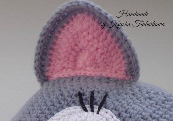 шапка с ушками 8