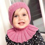 7 моделей шапочек для девочек спицами со схемами, описанием и видео МК