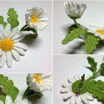 Как вязать крючком объёмные цветы — мастер-класс с описанием, схемами и видео