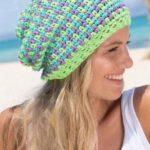 Подборка летних шапочек крючком для женщин со схемами и описанием