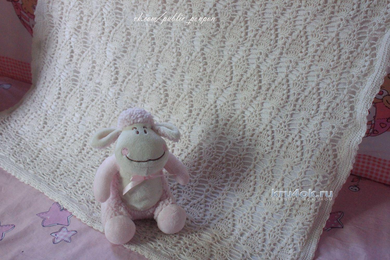 Схема фото для пледа новорожденного