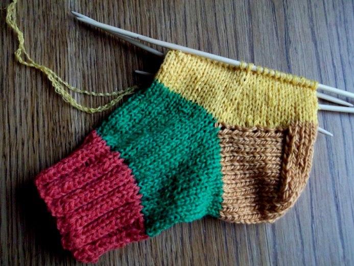 вязание носков на 5 спицах описанием схема и видео мастер класс