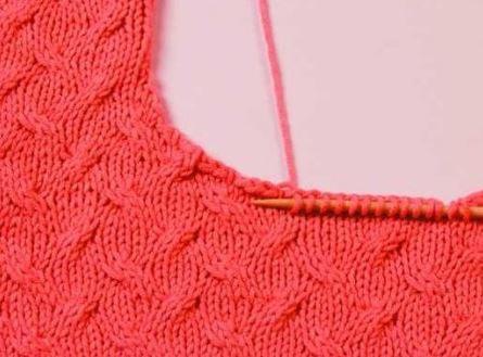 вязание спицами горловины 12 способов с описанием и видео мк