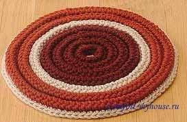 Корзинка (шкатулка) из сезали, джута, шпагата или шнура 76