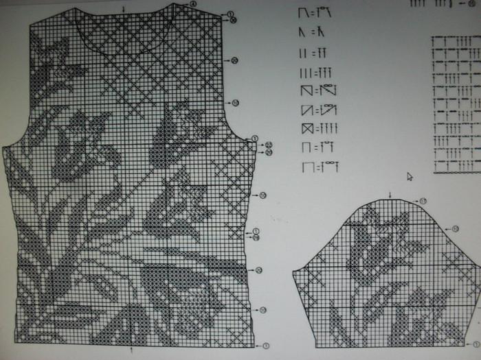 вязание крючком схемы филейное подборка из 70 схем с описанием