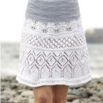 9 моделей вязаных юбок спицами для женщин со схемами, описанием и видео мк