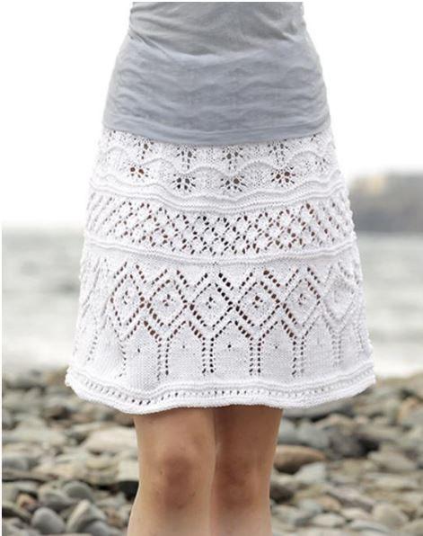 adfbb006209 Вязаная юбка спицами для женщин - 9 моделей (схемы