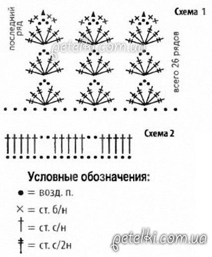 гетры крючком 9 моделей с описанием схемами и видео мк