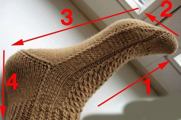 носки на двух спицах простой способ 5 моделей для начинающих с видео