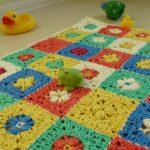 15 вариантов вязанных ковриков в ванную комнату крючком со схемами и описанием