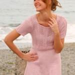 11 вариантов туник для полных женщин вязаных спицами со схемами, описанием и видео мк