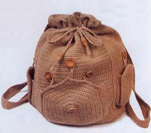 рюкзак крючком 12 моделей со схемами описанием и видео мк для