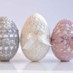 13 вариантов яиц вязаных крючком со схемами, описанием и видео мк