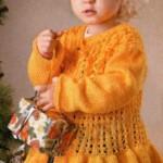 21 вариант жакета для девочки вязаного спицами со схемами, описанием и видео мк