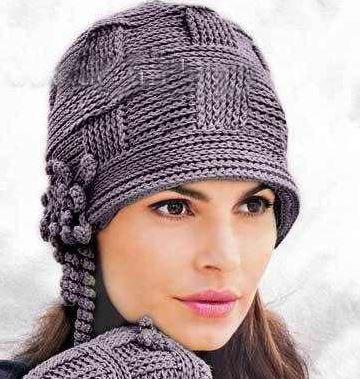 0bb95c5ed7b9 Женская шапка крючком: 21 модель со схемами, фото, описанием и видео мк