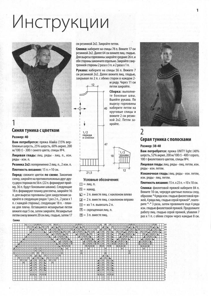 Новости вязания спицами для женщин 75