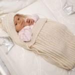 16 вариантов конвертов для новорождённого спицами со схемами, описанием и видео мк