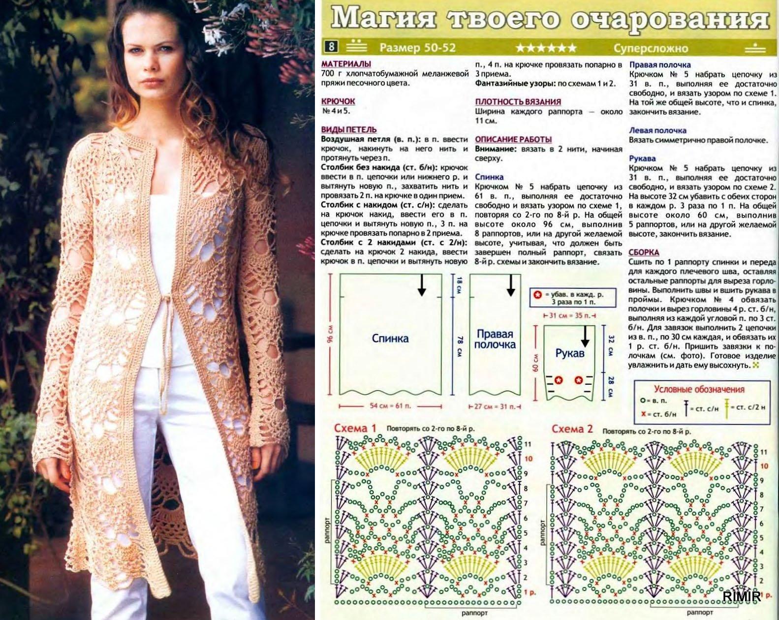 Кардиганы вязание схемы фото