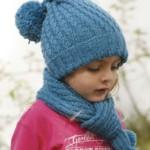 25 вариантов шапок для девочек на осень вязаных спицами  со схемами, описанием и видео мк
