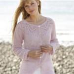 15 вариантов стильных кофт для женщин вязаных спицами с описанием и схемами