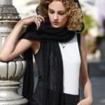 19 вариантов ажурных шарфов спицами со схемами и описанием, видео МК