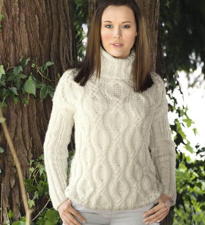 dbadf9ed480 Вязание свитера для начинающих спицами поэтапно  15 моделей с ...