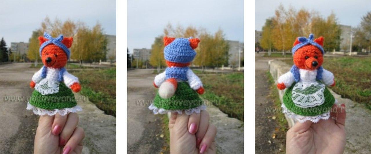 пальчиковые куклы крючком схемы вязания более 30 моделей с фото и