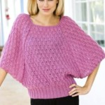 16 разнообразных вязанных спицами моделей кофточек и пуловеров для женщин с описанием, схемами и видео мк