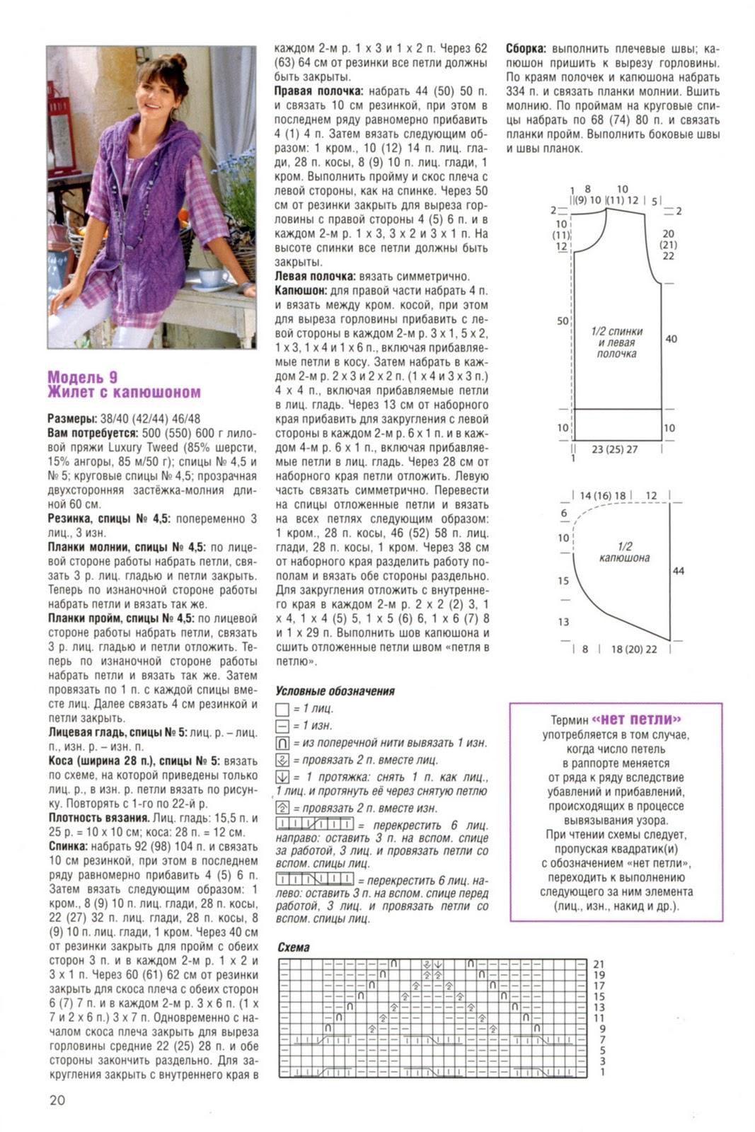 Вязание спицами жилеты и безрукавки для женщин больших размеров 81