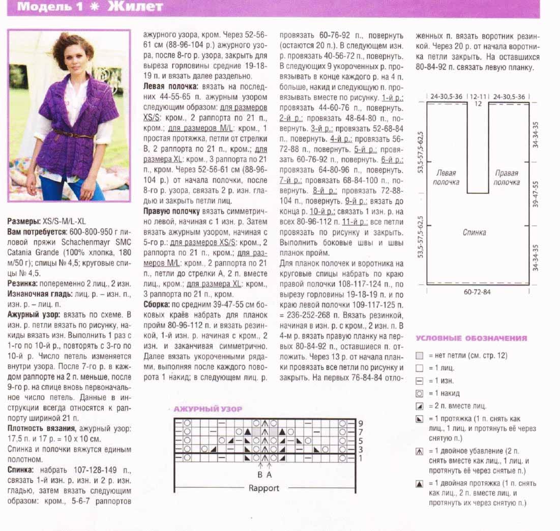 Вязанные жилеты женские спицами фото и схемы