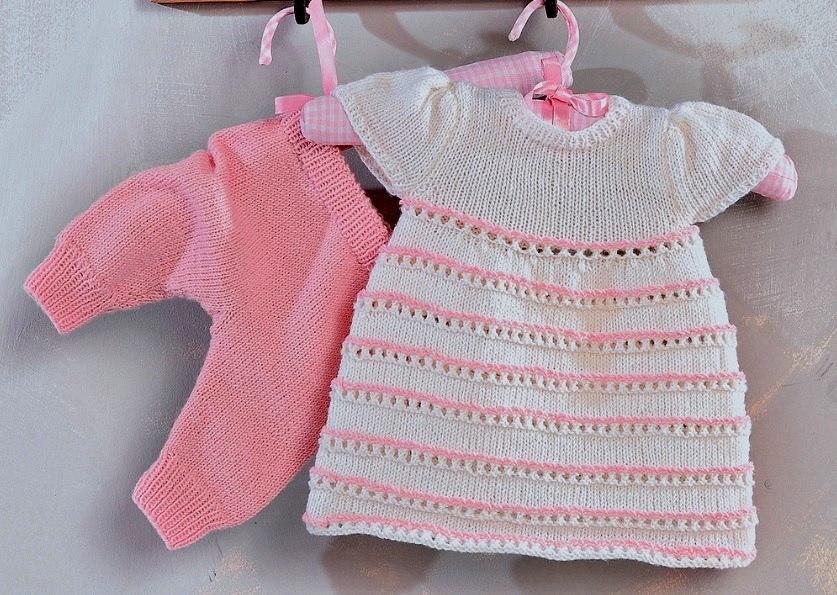 вязание для новорожденных 14 моделей спицами со схемами и описанием