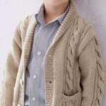 Вязаная спицами кофта для мальчика — 10 моделей со схемами, описанием и виде МК