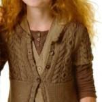 Вязание для девочек -16 моделей выполненных спицами с фото, схемами, описанием и видео МК