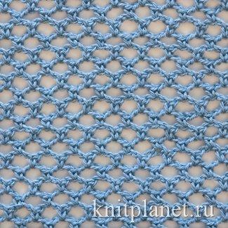 Сетка крючком со схемами и описанием фото 390
