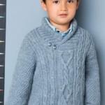 16 моделей пуловеров для мальчика вязаных спицами с фото, схемами, описанием и видео МК