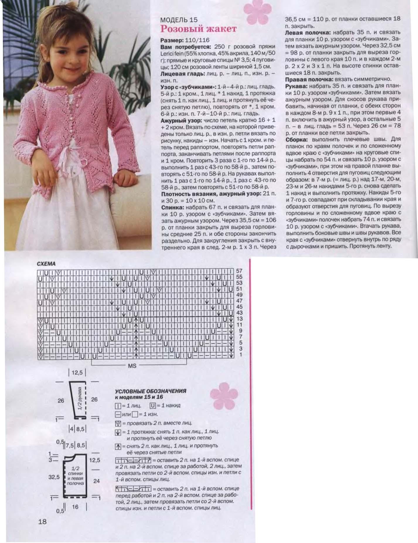 Вяжем для детей спицы схемы и фото
