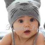 12 моделей шапок с ушками для мальчика  вязанных крючком с фото, схемами, описанием и видео МК