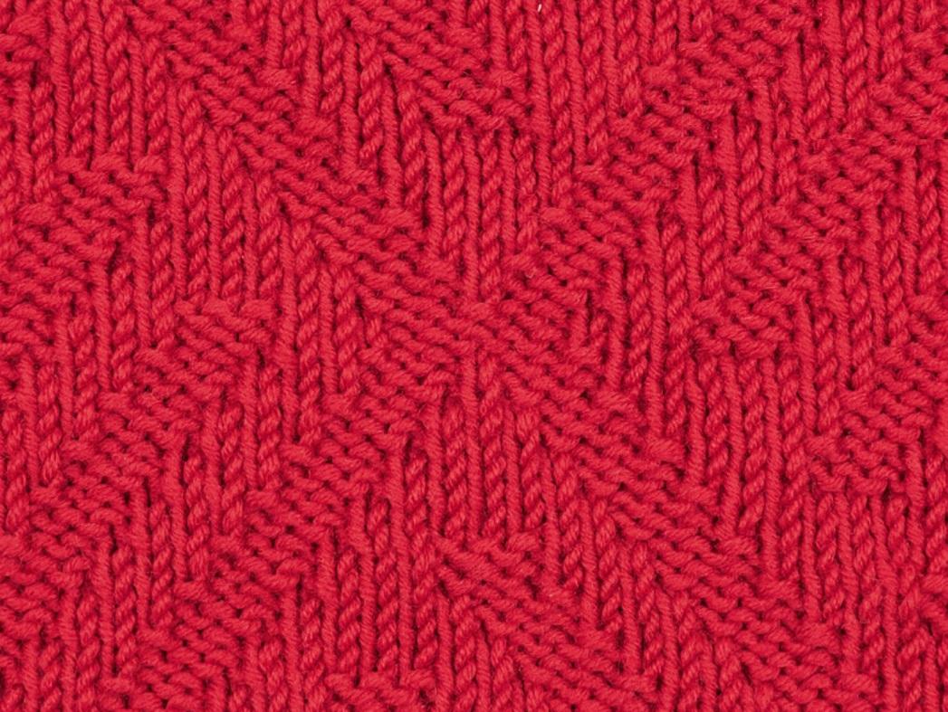 Схемы простых рисунков для вязания на спицах описание