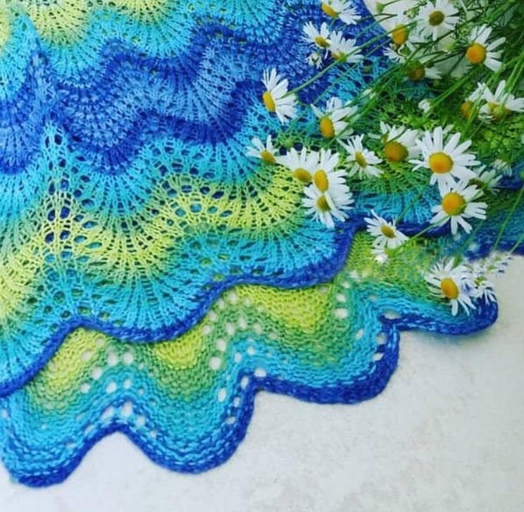 Кокетка для детского платья крючком: схема Вязание