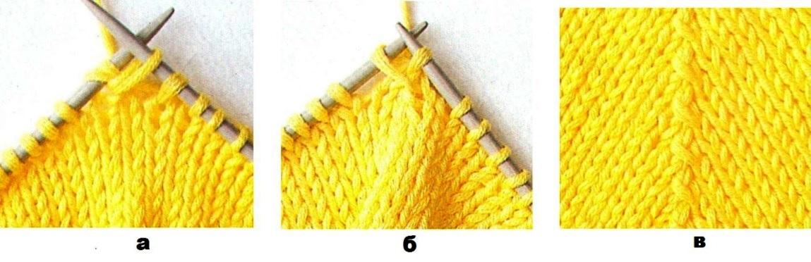 Петля протяжка в вязании спицами 61