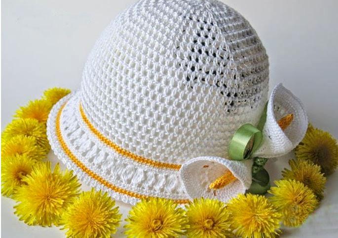 Цветы крючком для украшения одежды – варианты выполнения ...