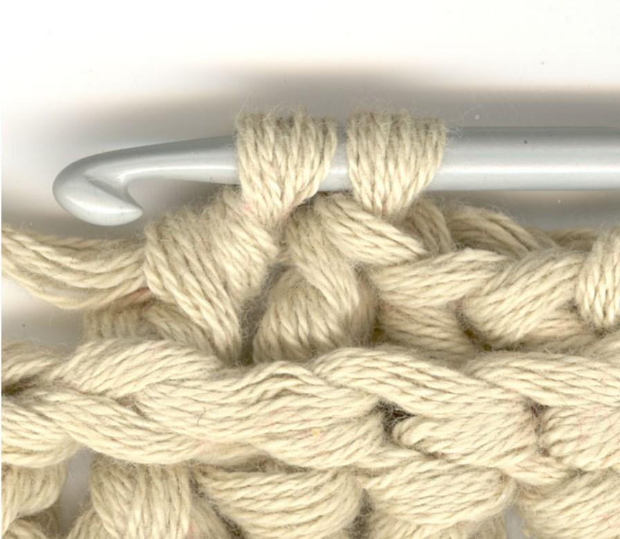 пошаговое описание вязание крючком
