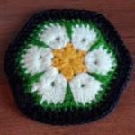 Схема вязания крючком мотива «Африканский цветок»: пошаговое описание выполнения с фото и видео МК