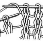 Как вязать накид спицами: пошаговое описание выполнения с фото и видео МК