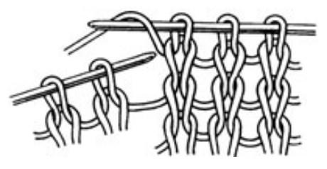 как вязать накид спицами пошаговое описание с фото и видео мк